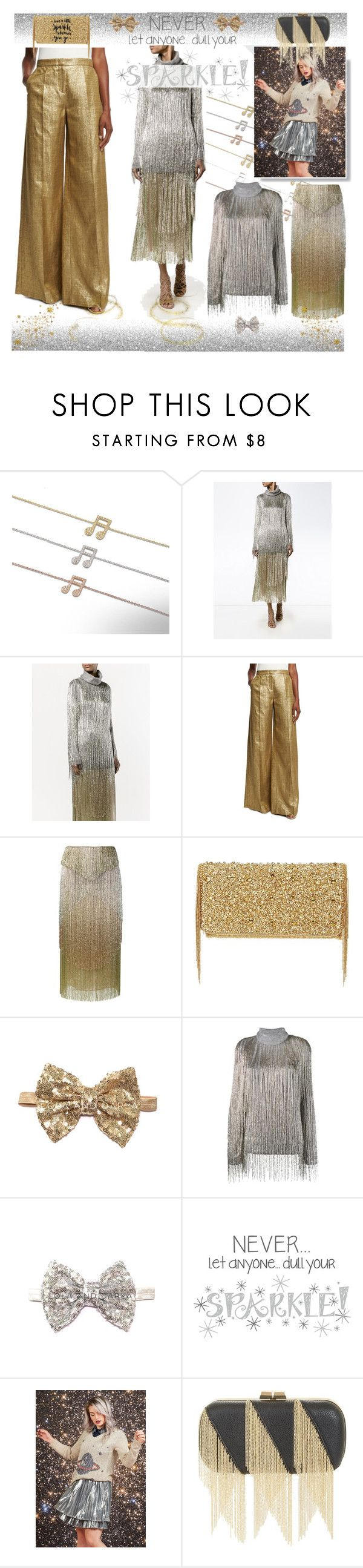 """""""Dance Party!"""" by yours-styling-best-friend ❤ liked on Polyvore featuring Linnet Jewellery, Valentino, Etro, Mary Frances Accessories and BCBGMAXAZRIA"""