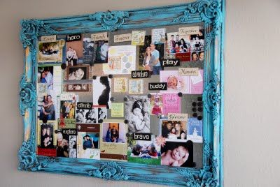 magnetic picture board