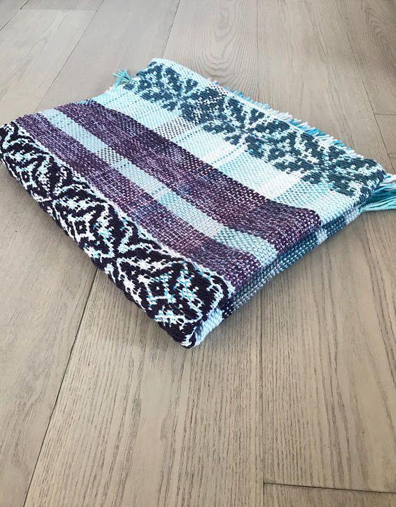 Handwoven Acrylic Blanket No. 6.4