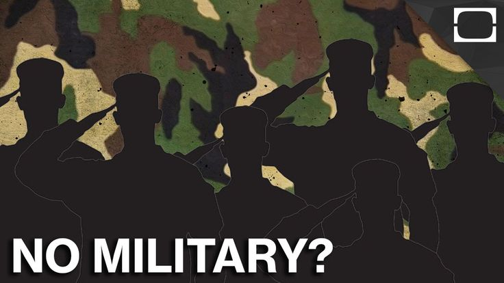 5 Countries That Don't Have Military Forces