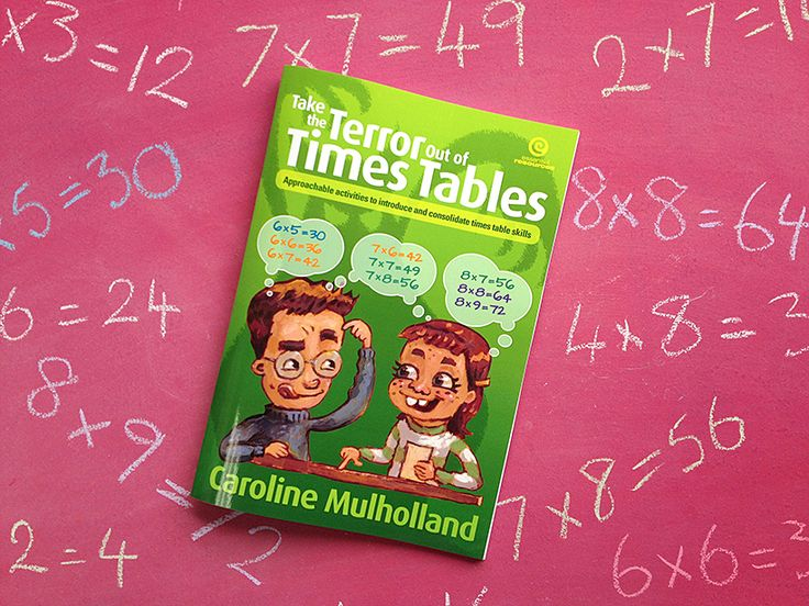 Take the Terror out of Times Tables by Caroline Mulholland