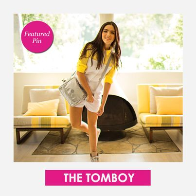 Are you the Tomboy this year? Featured Pin! #KiplingSweeps. #kiplingsweeps