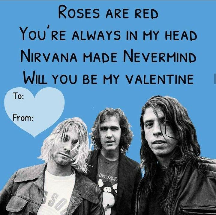 Frases De San Valentin Nirvana Valentines Memes Nirvana Memes