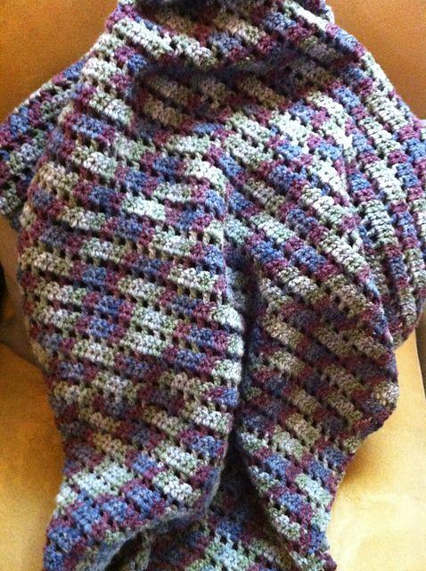 Ravelry: Boxy Blanket pattern by Kelli Wright