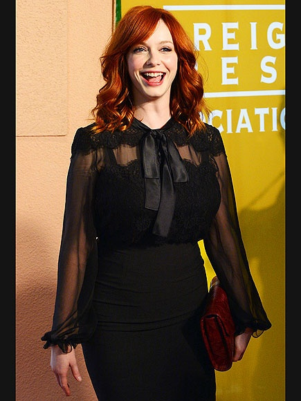 Who Could Be Mad, Man? photo | Christina Hendricks. Finally  with Sofia Vegara, people are noticing us curvy girls