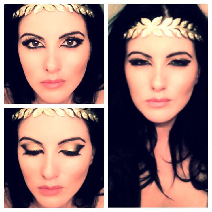 The Roman Goddess Look. #beauty #makeup #goddesslook
