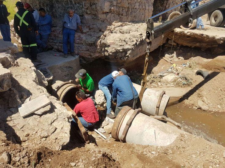 <p></p>  <p>Chihuahua, Chih.- La Junta Municipal de Agua y Saneamiento de Chihuahua (JMAS) informa que los trabajos de reparación