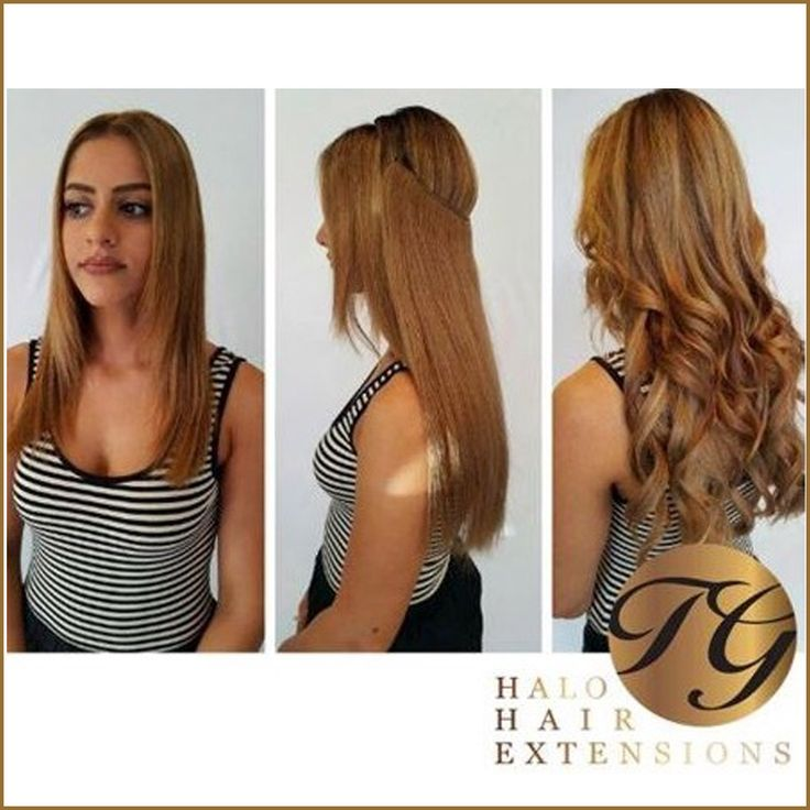 Long Hair In Less Than 60 Seconds With HALO HUMAN HAIR EXTENSIONS ONLY 29900 The Halo