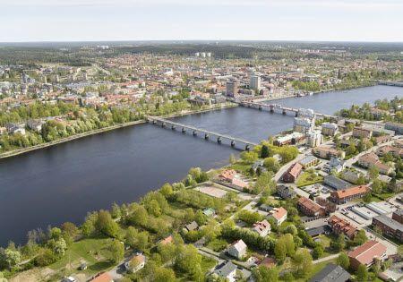 Umeå in Northern Sweden
