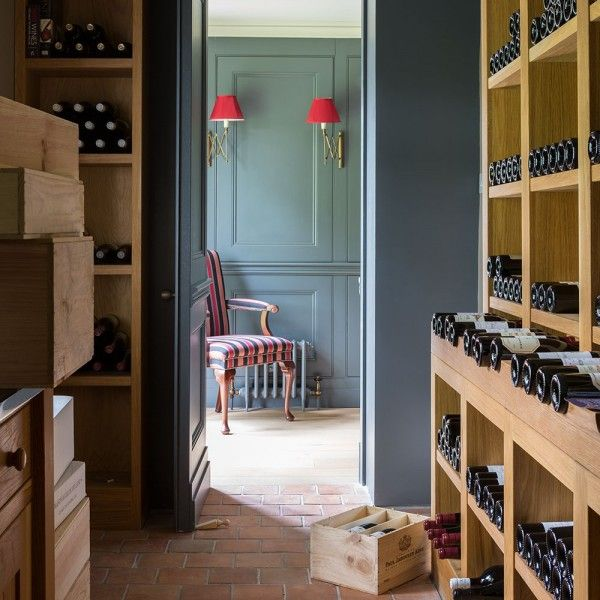 Enhance your home with a wine cellar