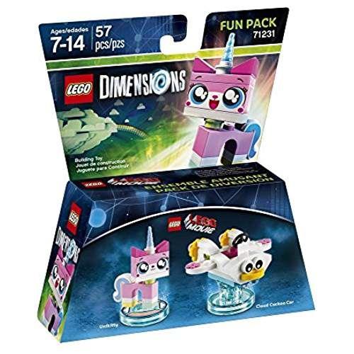 Figurine 'Lego Dimensions' - Unikitty - La Grande Aventure Lego