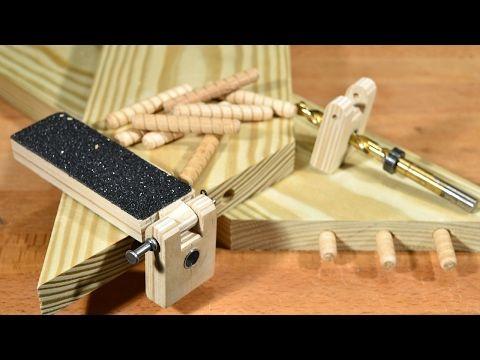 Кондуктор для установки шкантов - YouTube