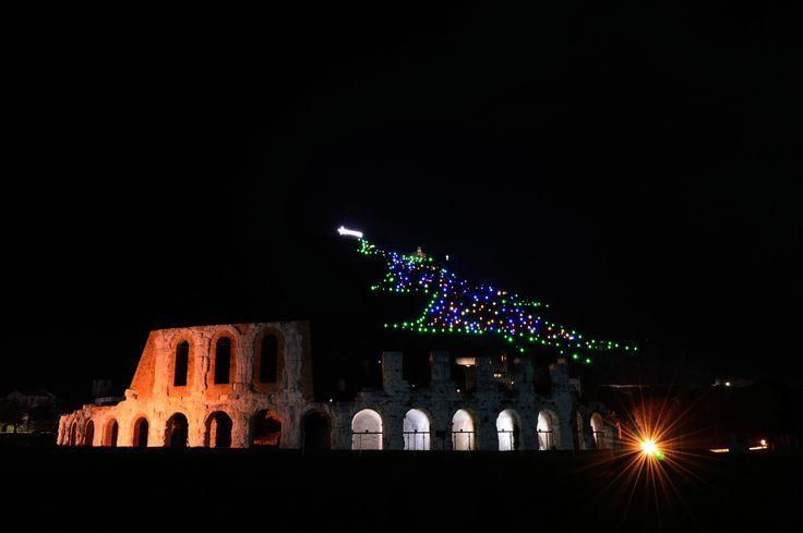 The night at Gubbio