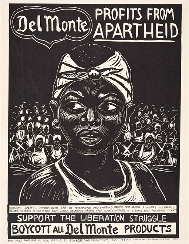 #boycott posters - Apartheid South Africa