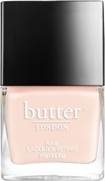 butter LONDON Pink Ribbon Nail Lacquer | Pink sheer | Borrowed from our classic Pink Ribbon lacquer, this new version is a modern twist for the perfect sheer pink.