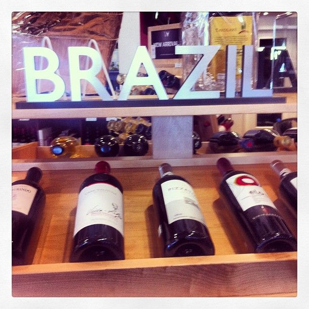 @delucafinewiness photo: Have you had a Brazilian wine before? Come see us and we will help you pick the perfect one! #brazilianwine #tannat #malbec #luidocarraro #pizzato #donlaurindo @Lisa Davila To #casavalduga #salton
