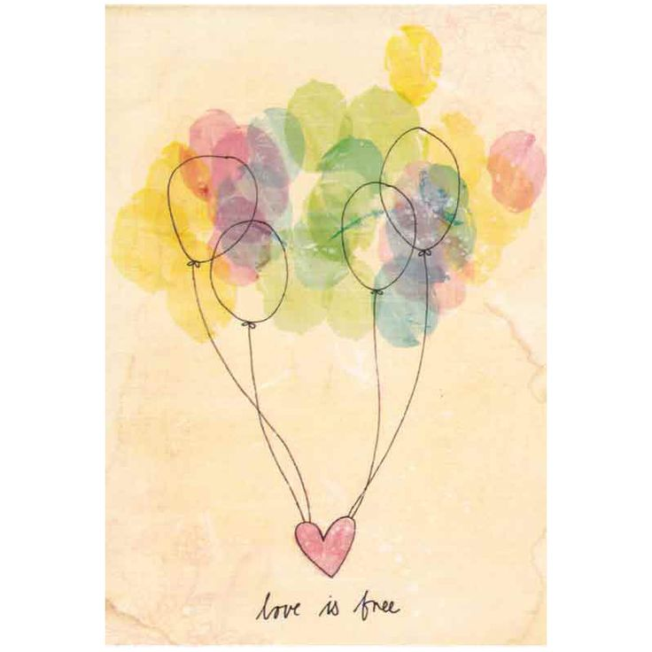 Love Is Free  Card