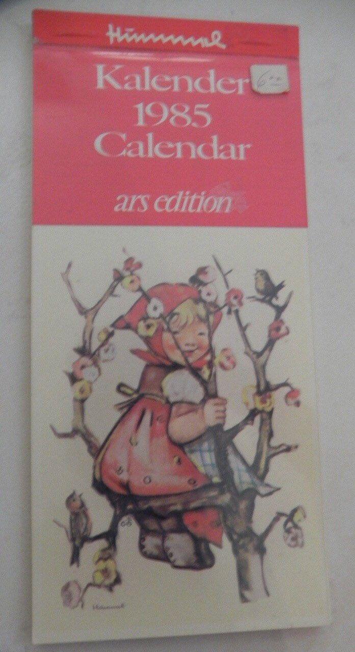 Hummel Calendar Ars Edition Postcard Booklet 1985 Paper Ephemera