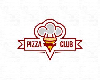 Pizza Club by Martyr - logopond.com
