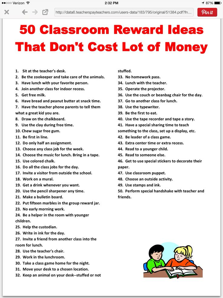 Classroom Punishment Ideas ~ Best reward ideas on pinterest free classroom