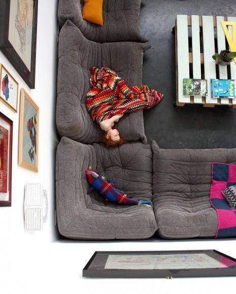 Togo sofa from #ligneroset. Sweet dreams