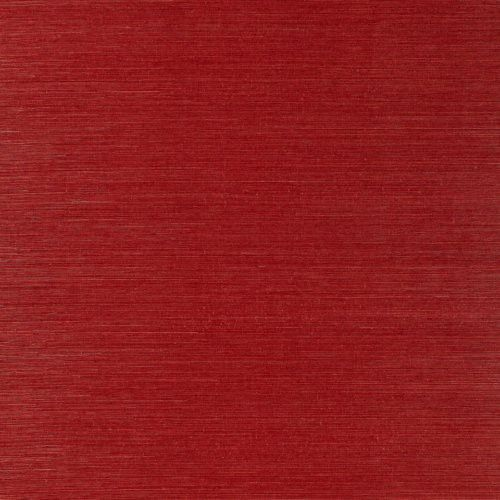 Schumacher Osan Sisal Red Wallpaper