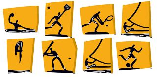 athen olympics 2004 pictograms