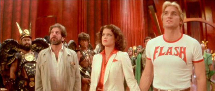 Flash Gordon T-shirt – Sam J. Jones http://tshirtsonfilm.com/2014/08/flash-gordon-t-shirt-sam-j-jones/ #FlashGordon