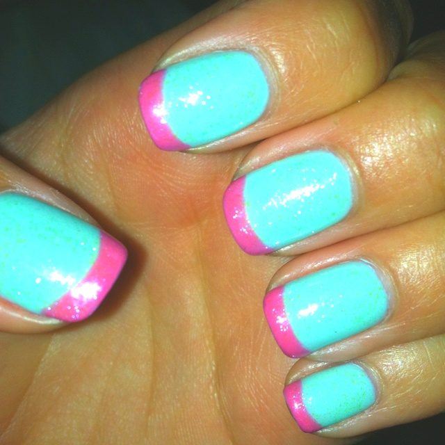 Excellent Glitter Nail Art Pens Big All About Nail Art Square How To Dry Nail Polish Easy Nail Art For Beginners Step By Step Old Nail Polish And Pregnancy BlackNail Fungus Finger 17 Best Ideas About Two Toned Nails On Pinterest | Fun Lacquer ..