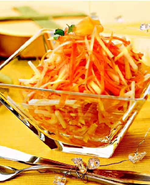 Chinese kool salade recept