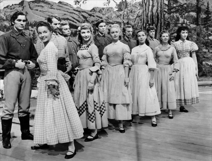 Seven Brides for Seven Brothers:  Virginia Gibson - Ruta Lee - Julie Newmar - Matt Mattox - Tommy Rall - Jeff Richards - Russ Tamblyn