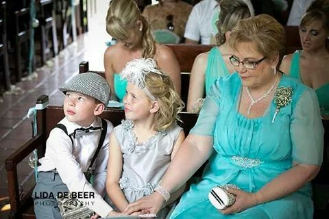 Mother of the bride....