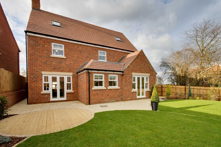 Rear garden of The Showhome at Aspen Park in Apsley | Bovis Homes