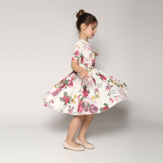 Hey, I found this really awesome Etsy listing at https://www.etsy.com/il-en/listing/229149328/spring-flower-girl-dress-floral-print