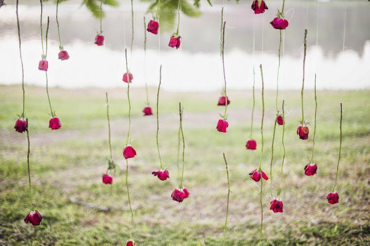 Ensaio fotográfico de bodas de flores