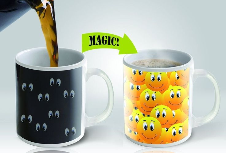 Magic Mugs | Amazing Heat Sensitive Color Changing Coffee Mug unique | Collectibles, Decorative Collectibles, Mugs, Cups | eBay!