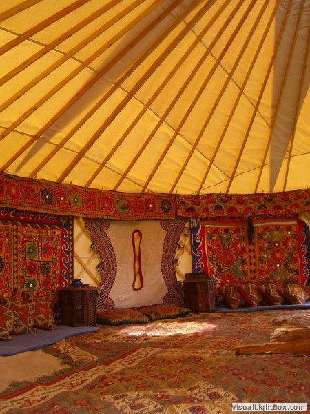 Pin by Opulent Memory on Yurts   Yurt interior, Yurt tent ...