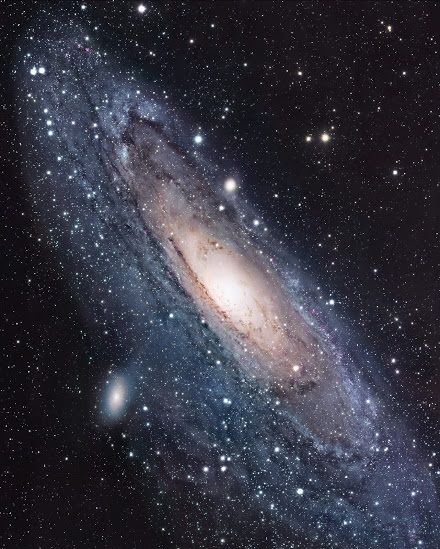 Hubble Space Telescope The Andromeda Galaxy, also known as Messier 31, M31, or NGC 224.