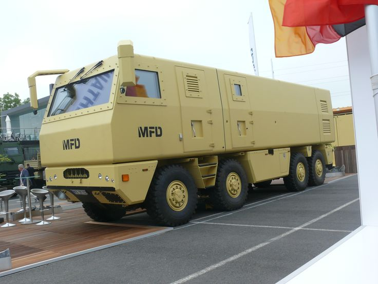 Drehtainer MFD DTT 112 on Tatra base