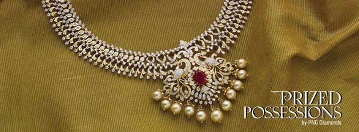 Exclusive #Diamond Necklace set by #PNG Diamonds