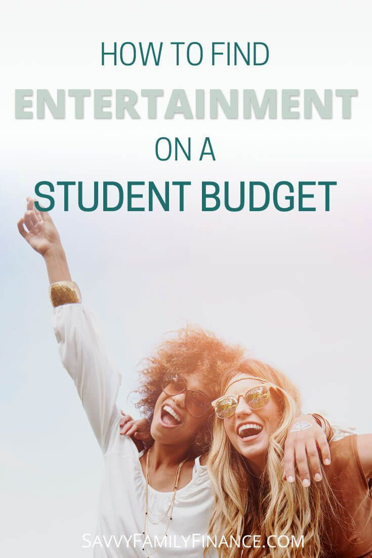 Finding affordable fun in college isn't hard if you know where to look. Check out our tips on finding entertainment on a student budget.    college fun | college entertainment | fun on a student budget | cheap fun via @savvyfamfinance