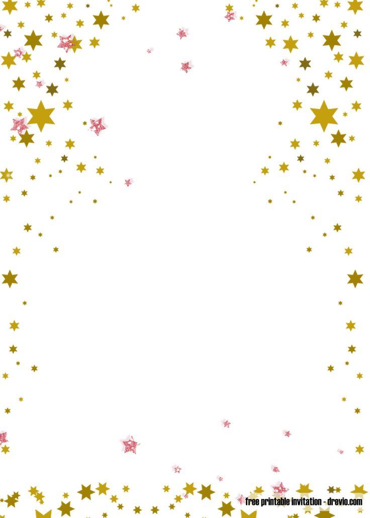 FREE Printable Twinkle Twinkle Little Star Invitation ...
