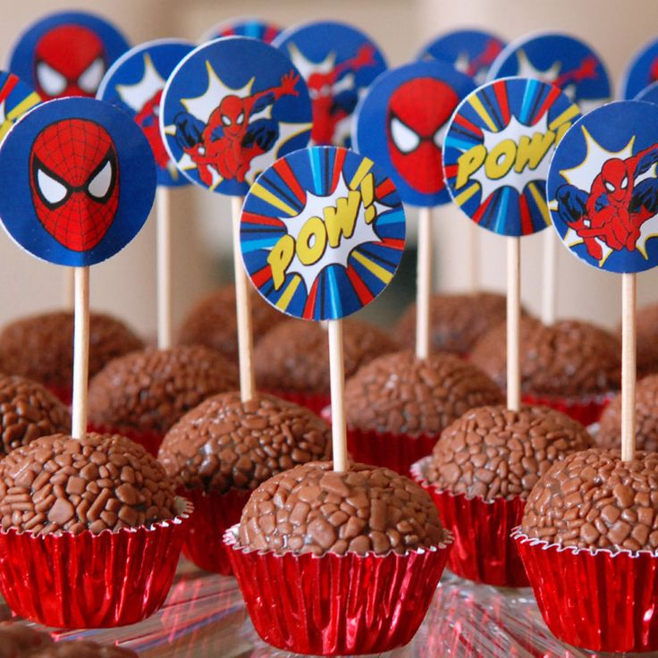 Toppers Homem Aranha, by Party Print.
