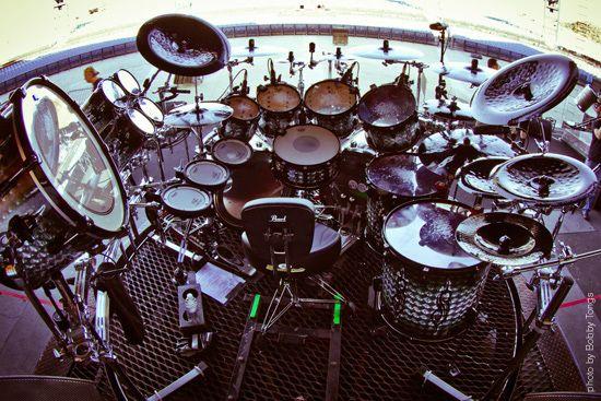 Joey Jordison Drum Kit With Images Drum Kits Metal