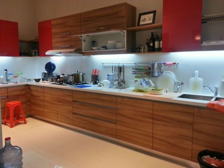 Hectic kitchen....