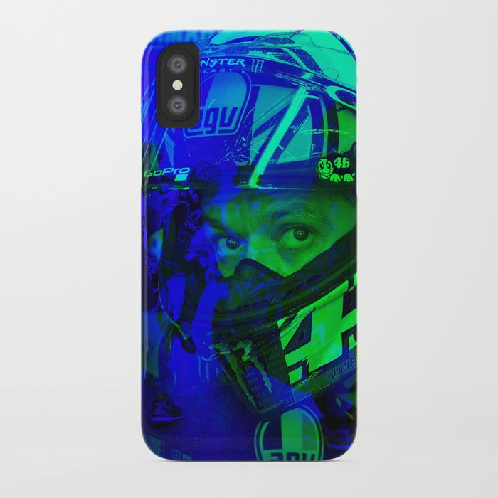 Protect your iPhone with a one-piece, impact resistant, flexible plastic hard case featuring an extremely slim profile. Simply snap the case onto your iPhone for solid protection and direct access to all device features. #valentino #rossi #iphone #case #art #design #motorsport #racing #photography #thedoctor #italy #motogp