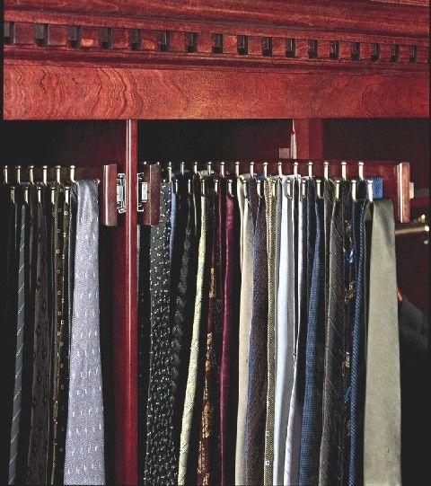 Wooden Tie Rack | Wood Tie Rack