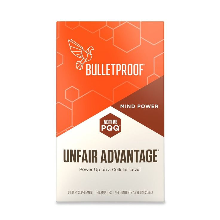 Unfair Advantage Promotes heart cell and nerve cell function, Rebuilds and restores mitochondria, your cells' power plants.