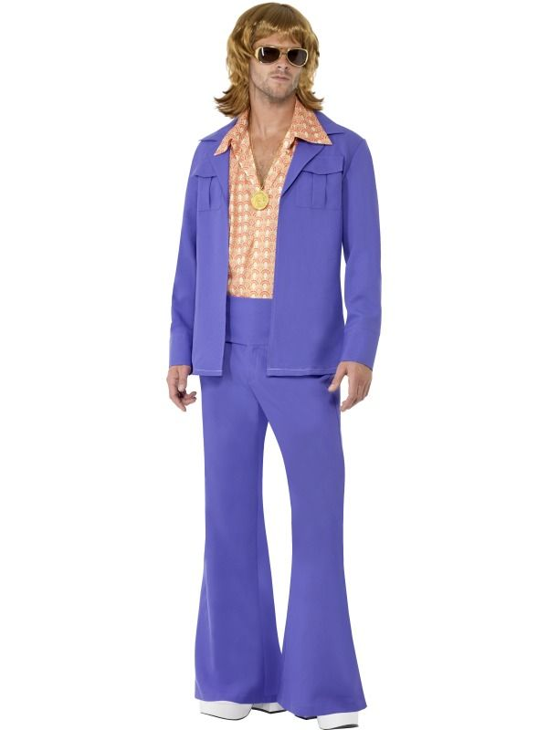 1970s Leisure Suit 1970s Leisure Suit, Purple, with Jacket, Shirt Front and Trousers, in Display Bag [SF22468L] - £37.99 : Get It On Fancy Dress Superstore, Fancy Dress & Accessories For The Whole Family. http://www.getiton-fancydress.co.uk/adults/throughthedecades/1970sdisco/1970sleisuresuit#.UpHoDScUWSo