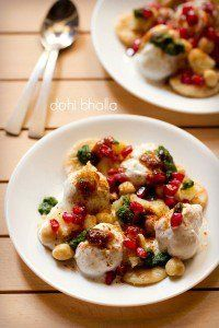 dahi bhalla recipe, how to make dahi bhalla papdi chaat recipe